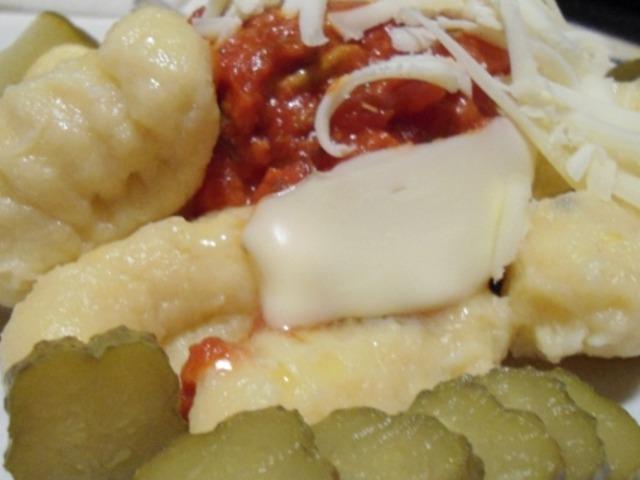 Ньоки с доматен сос