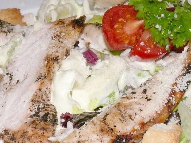 Картофена салата с пилешко