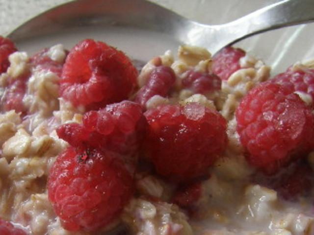 Закуска за отслабване с пресни малини