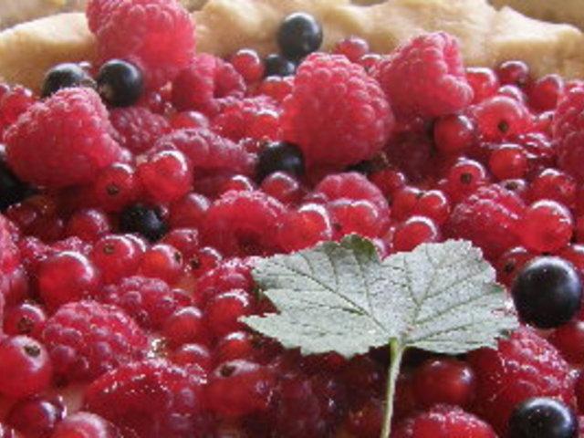 Френски тарт с червени плодове
