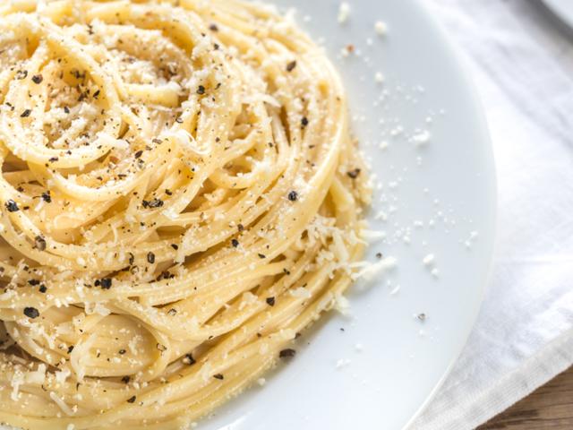 Спагети Качо е пепе