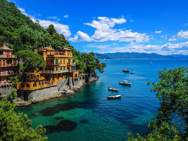 Портофино, Италия. снимка: istock