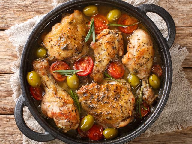 Пиле по сицилианска рецепта