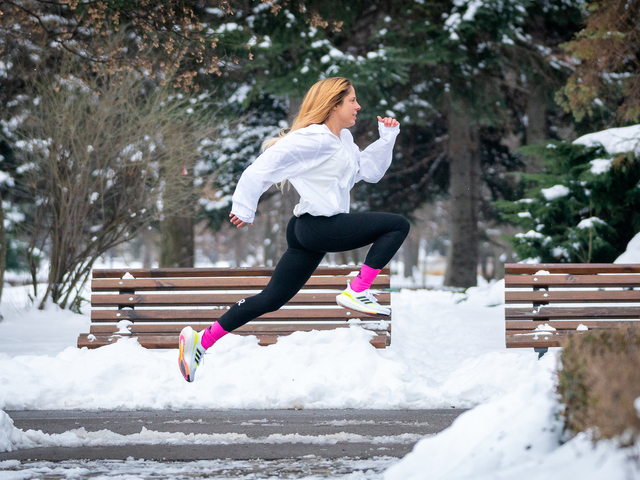 Надя Младенова, капитан на adidas Runners Sofia.