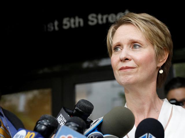 Синтия Никсън. Снимка: Reuters