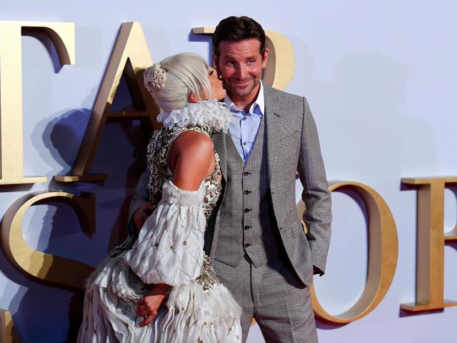 Лейди Гага и Брадли Купър. Снимка: Reuters