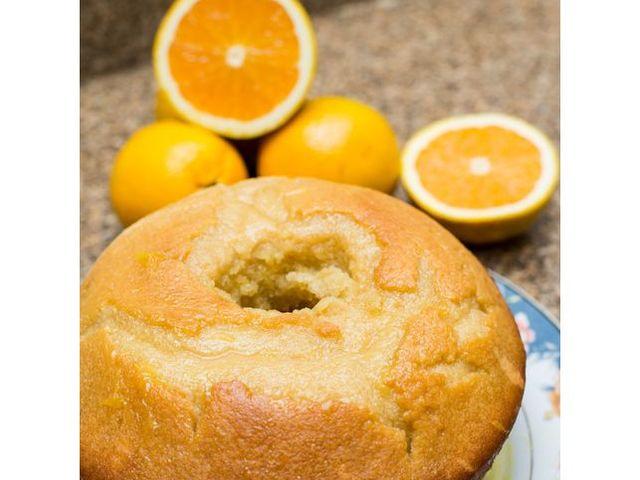 Портокалов кекс с канела