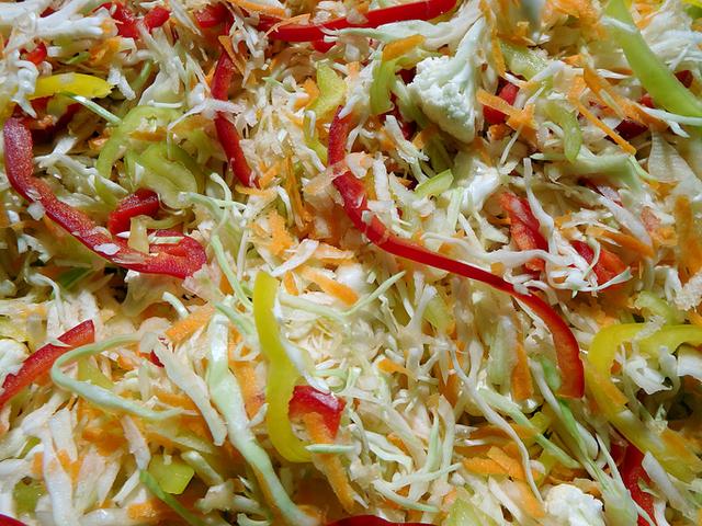 Много вкусна есенна салата
