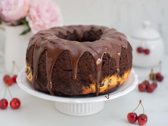 Шоколадова заливка за кекс