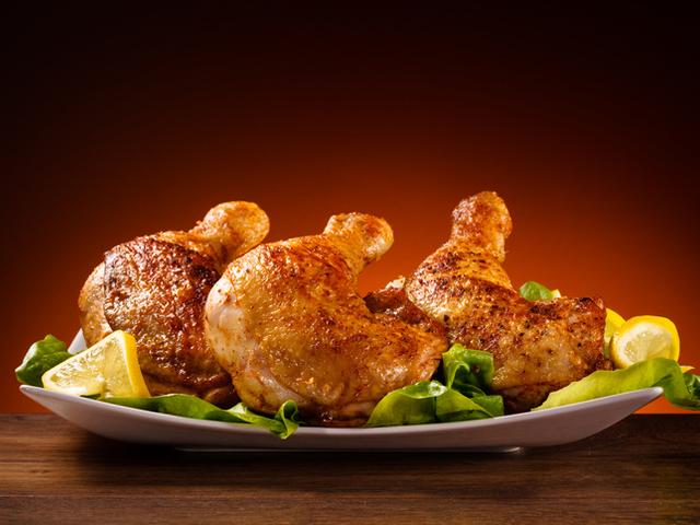 Пикантни пилешки бутчета с паприка