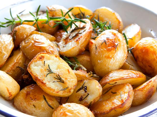 Картофи на грил с горчица
