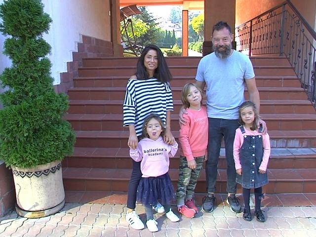 Семейството на Люба и Венци.
