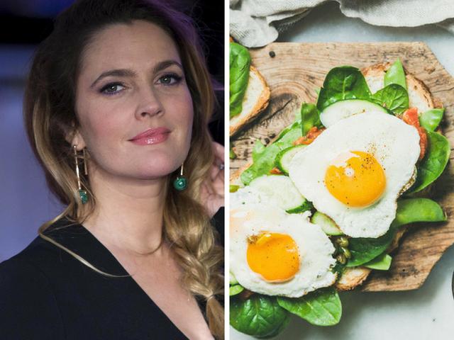Сандвич със сирене и яйце по рецепта на Дрю Баримор