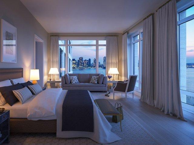 Това е гледката от спалнята на звездното семейство. Снимка: 70vestry.com