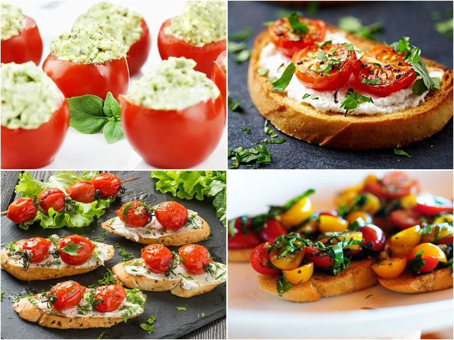 Страхотни летни рецепти с чери домати