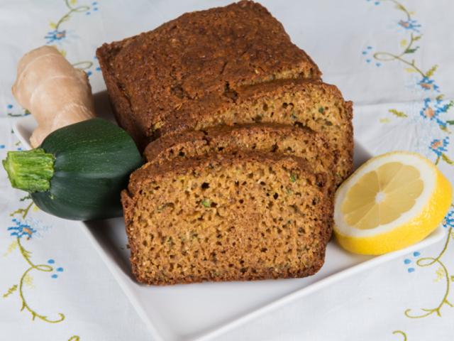 Лимонов хляб с тиквички