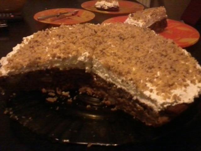 Морковена торта с крем от маскарпоне