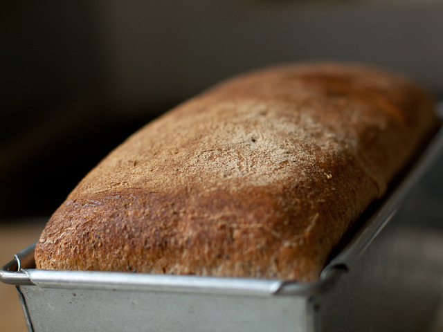 Постен хляб с маслини