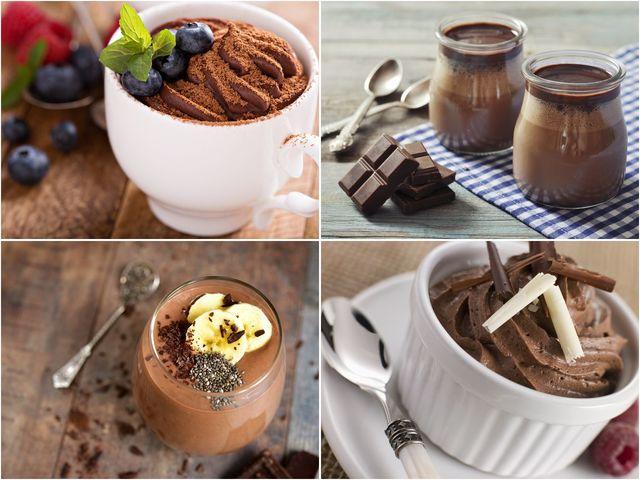 16 рецепти за шоколадов мус и крем