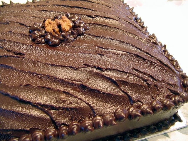 Маслена торта без печене
