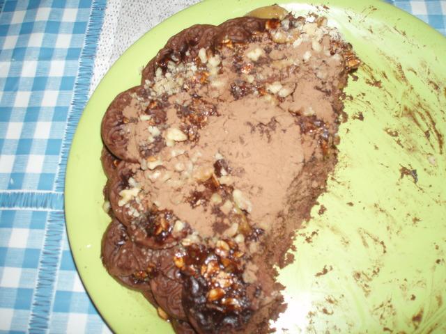 Бърза шоколадова торта