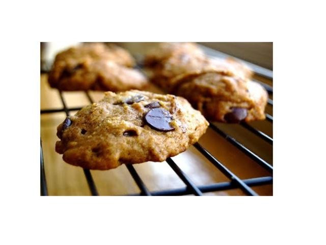 Бисквити с шоколад и тиква