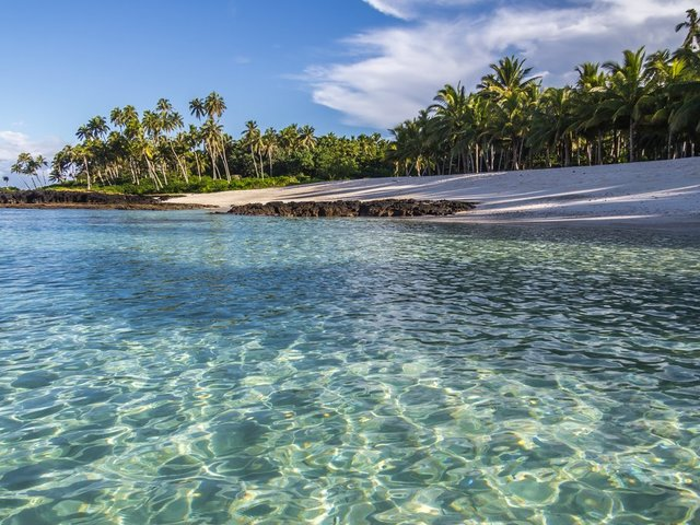 Гледка към остров Уполу в Самоа. Снимка: flickr Andrew Moore