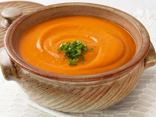 Тиквена крем супа с целина