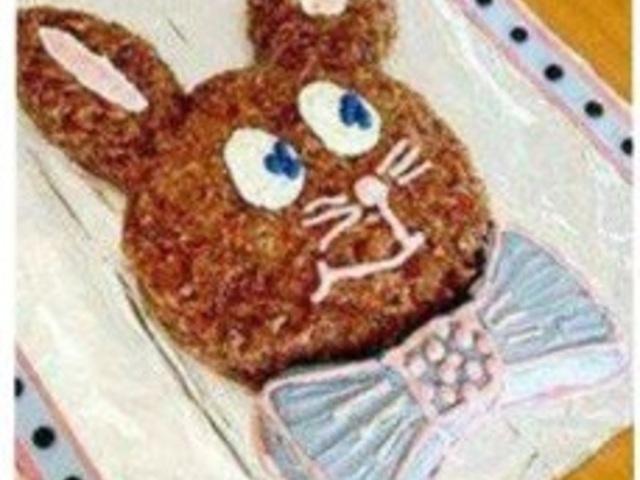 Торта във формата на зайче