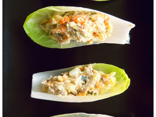 Елегантна салата с риба тон