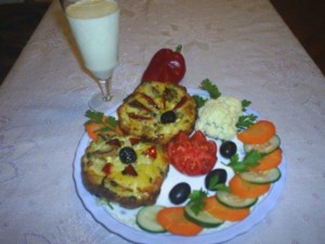 Вегетарианска запеканка