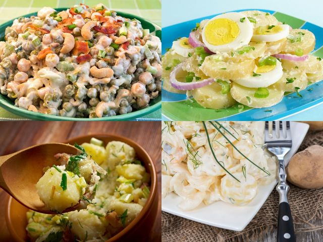 Подбрани рецепти за картофена салата