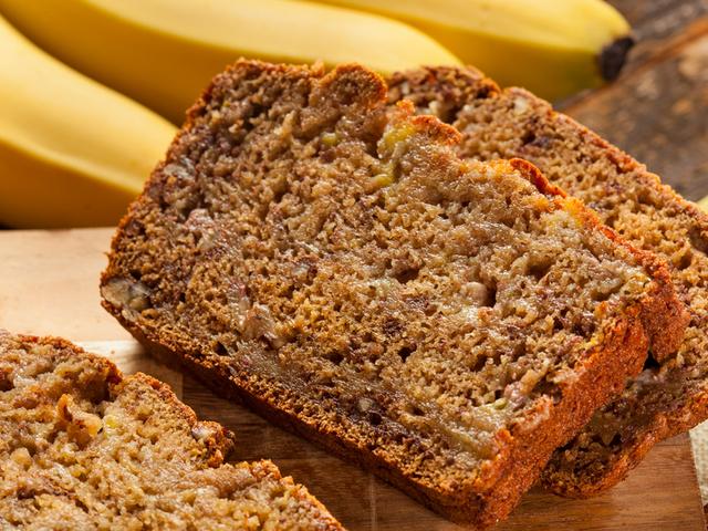 Лесен кекс с банани в хлебопекарна