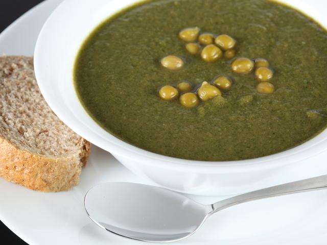 Лесна лятна крем супа