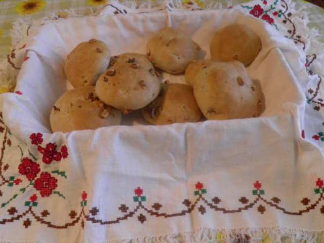 Хлебчета с орехи