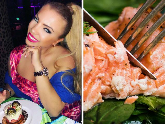 Рецептата на Паолина Петракиева за сьомга с чери домати и каперси