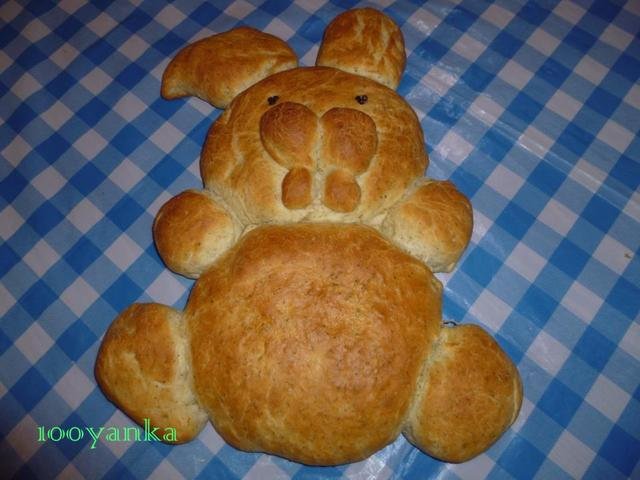 "Великденски хляб ""Заек"""