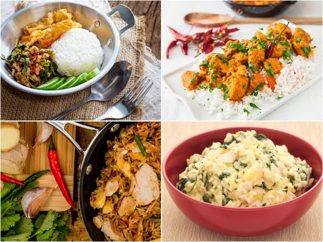 Разнообразни рецепти за пиле с ориз