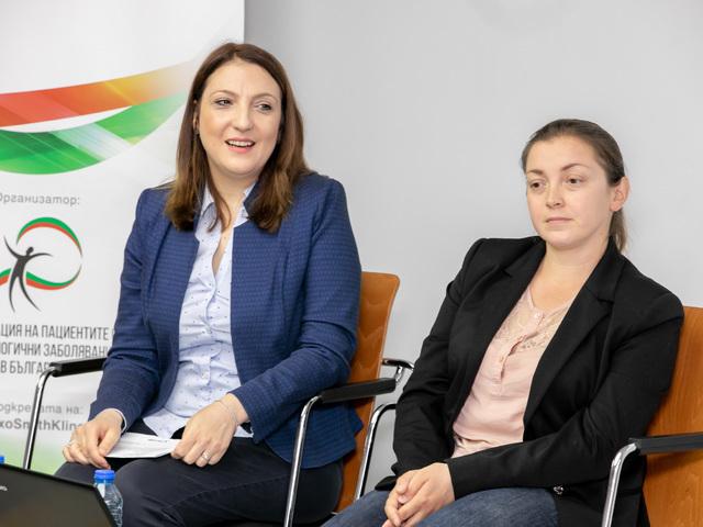 От ляво: Боряна Ботева, Миглена Иванова.