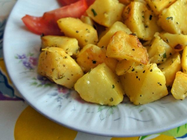 Картофи соте с майорана