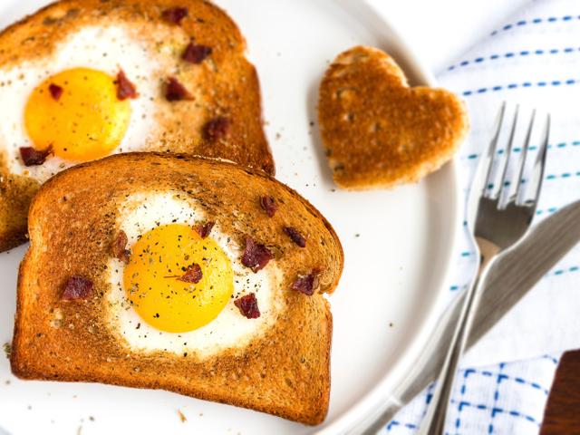 Вкусни филийки с яйца