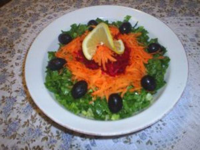 Трицветна салата