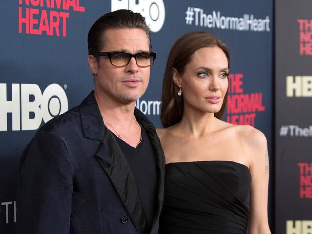 Брад Пит и Анджелина Джоли на събитие през 2016г., когато още бяха семейство. Снимка: Reuters