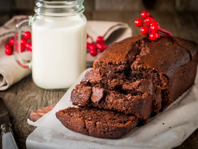 Шоколадов кекс в хлебопекарна машина
