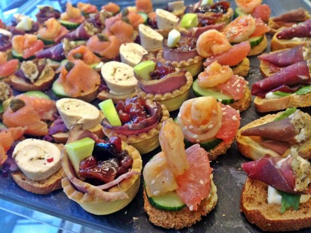 Бохемски идеи за парти сандвичи