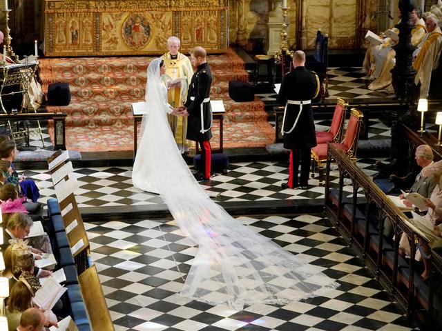 Принц Хари и Меган Маркъл. Снимка: Reuters