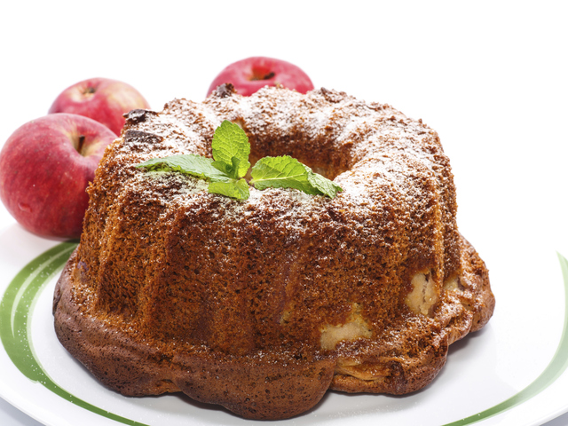 Дунапренен кекс със сметана