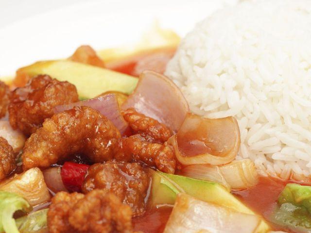 Свинско по китайски със сладко-кисел сос