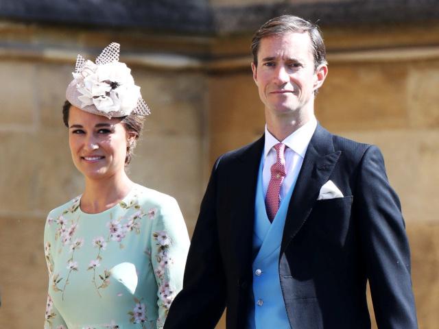 Пипа Мидълтън и съпругът й Джеймс Матюс. Снимка: Reuters