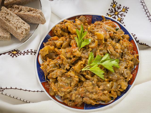 Мароканска салата Zaalouk с патладжани